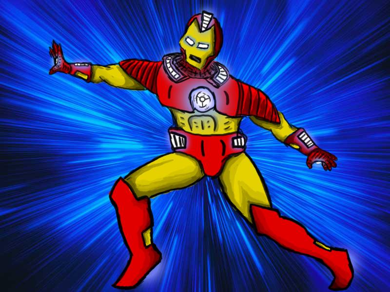 Iron Man in Vortec Space
