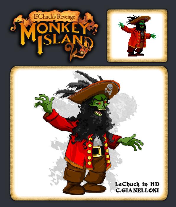 Monkey Island LeChuck HD