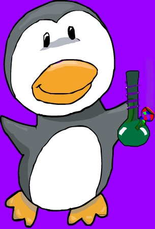 Smoking Penguin