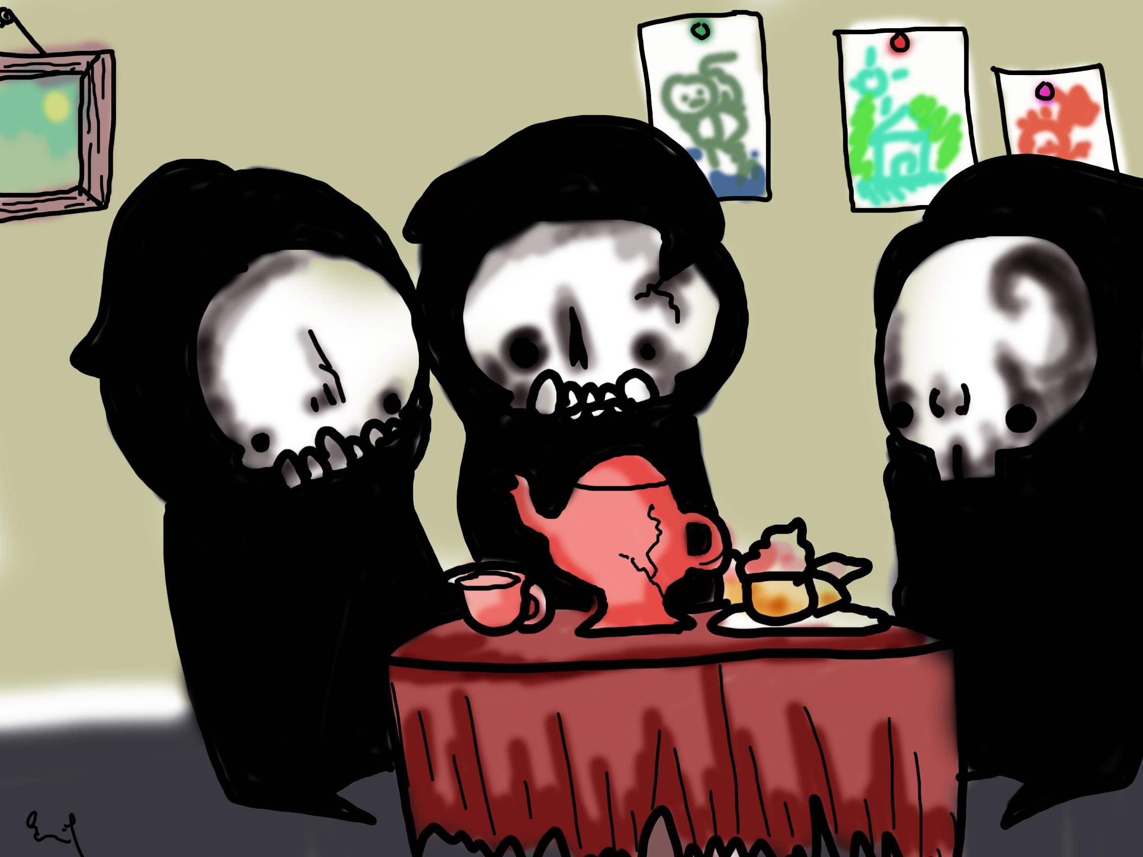 Death has kids
