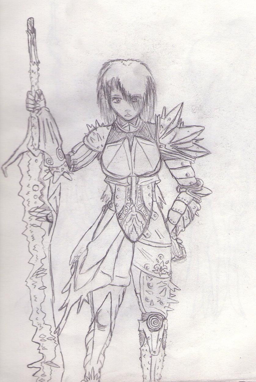 Sorian (Custom armor)