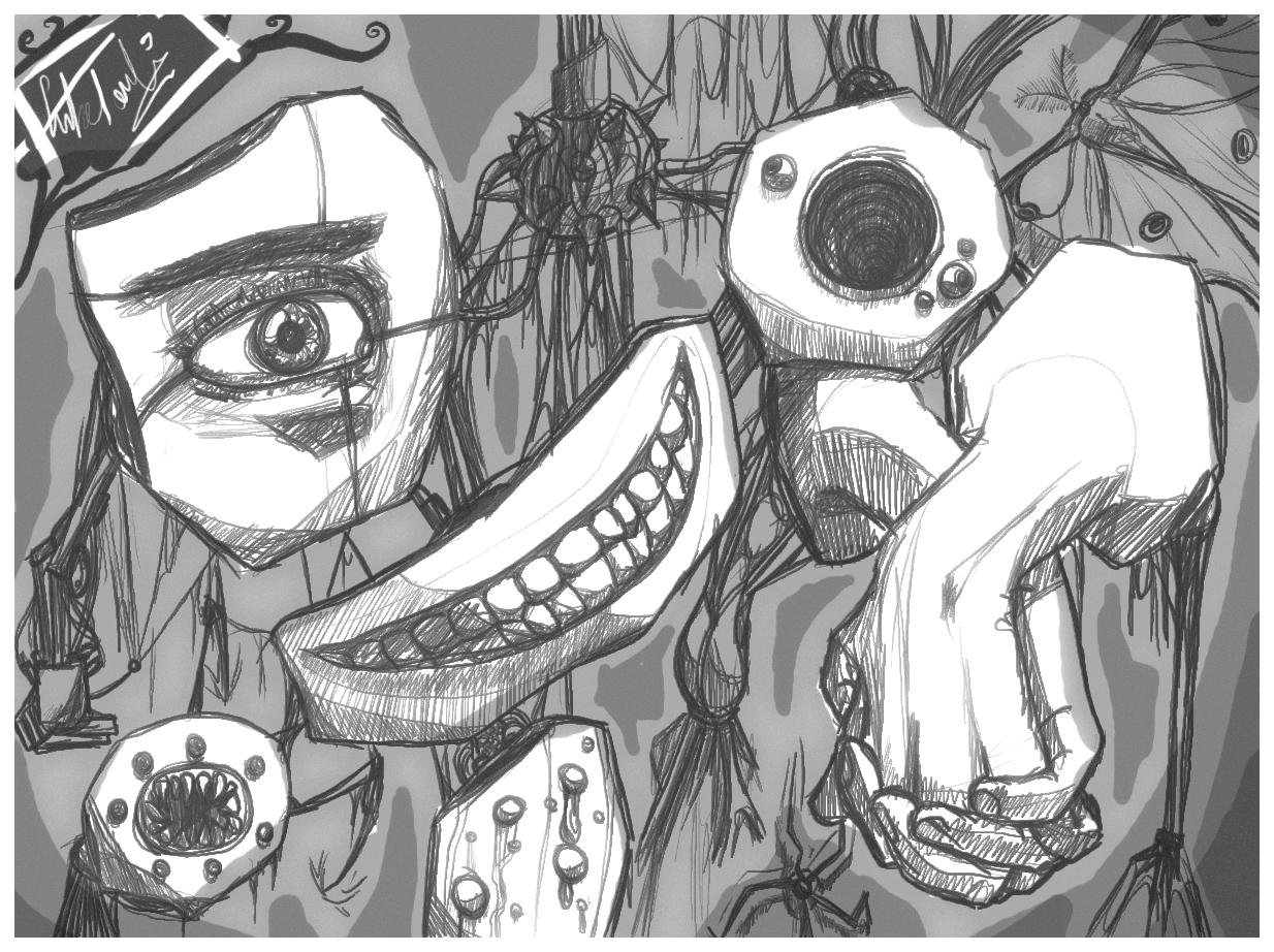 Scareh doodle