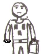 Kriper t-shirt man