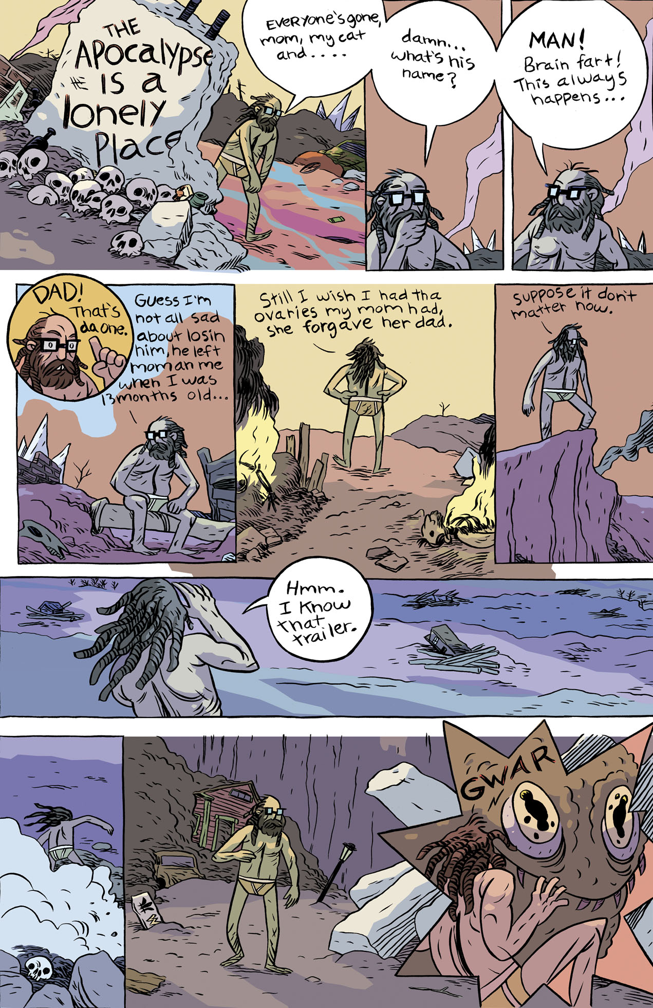 Lonely Apocalypse page 1