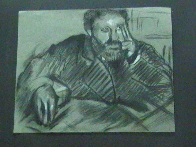 self portrait of Degas
