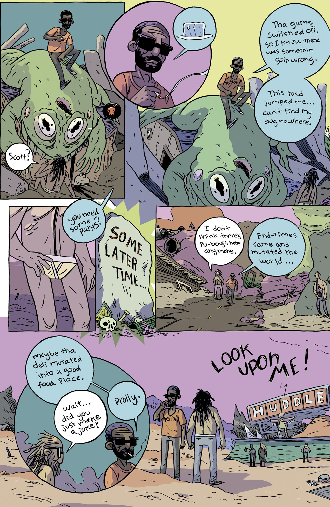 Lonely Apocalypse Page 2