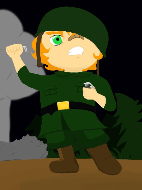 n00b soldier