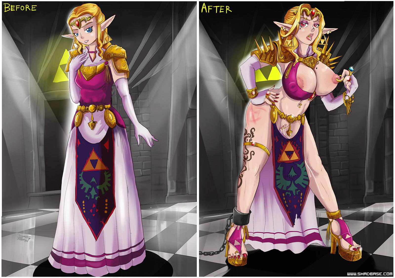 Corrupted Zelda