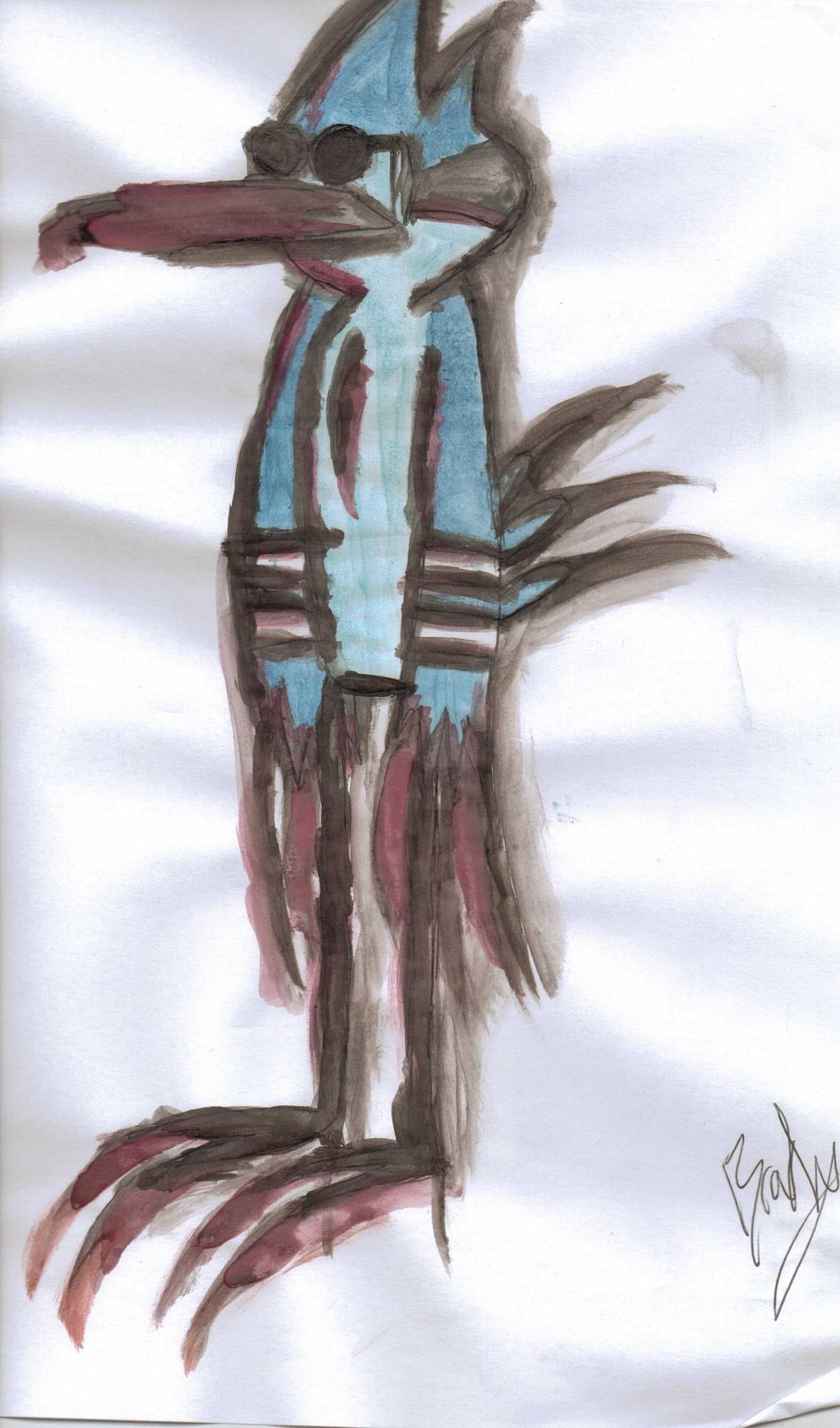 Mordekai the Blue Jay.