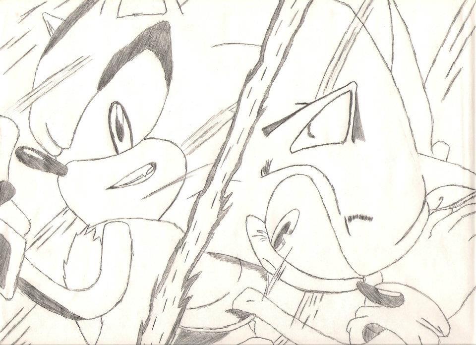 Shadow VS Sonic