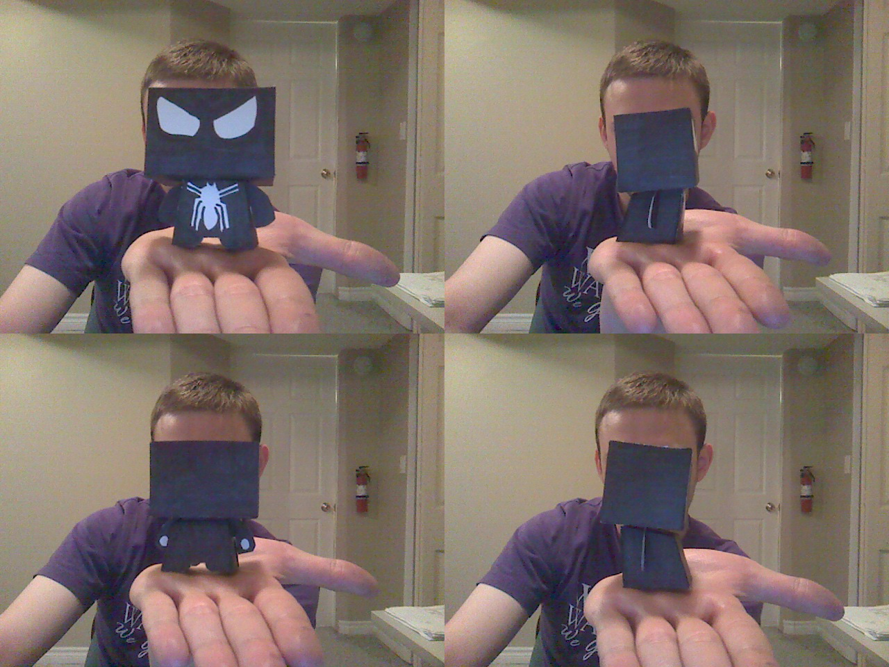 Papercraft Black Spiderman