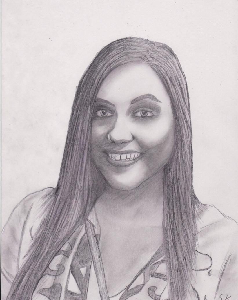 Drawing of Tobi