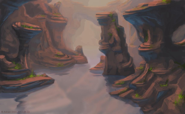Landscape speedpaint 3