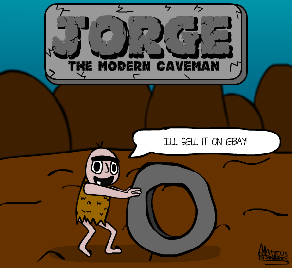 The modern caveman