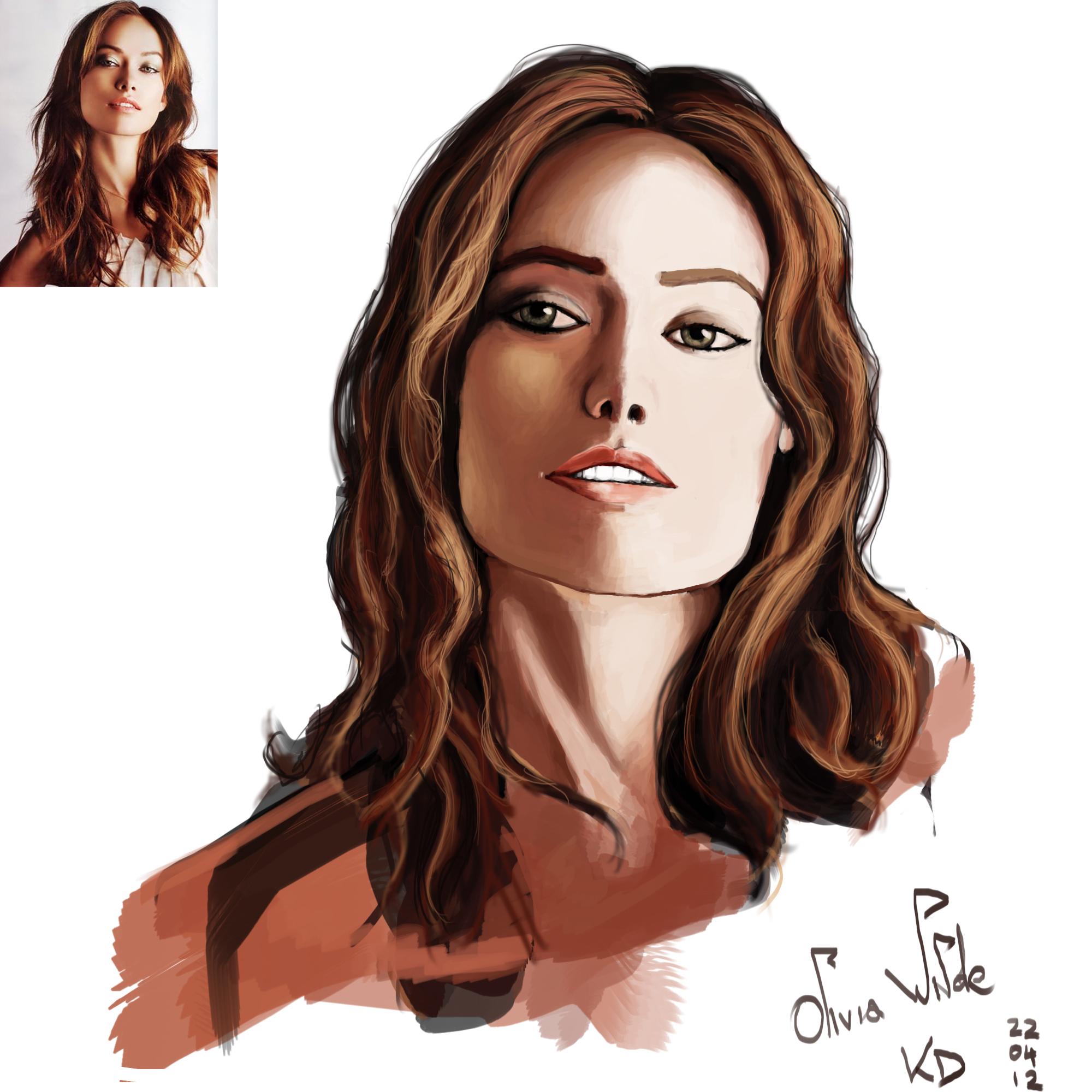 Olivia Wilde portrait