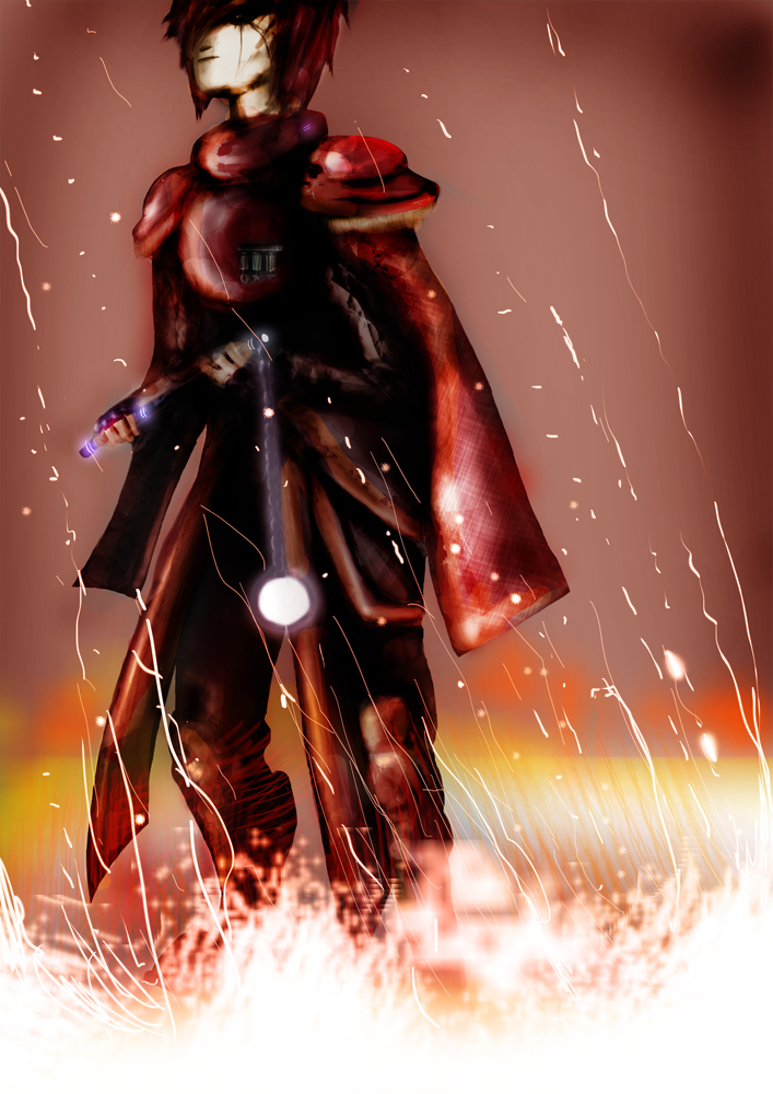 Vampire Fire Baron Savi