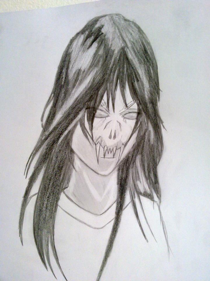 demon masked girl