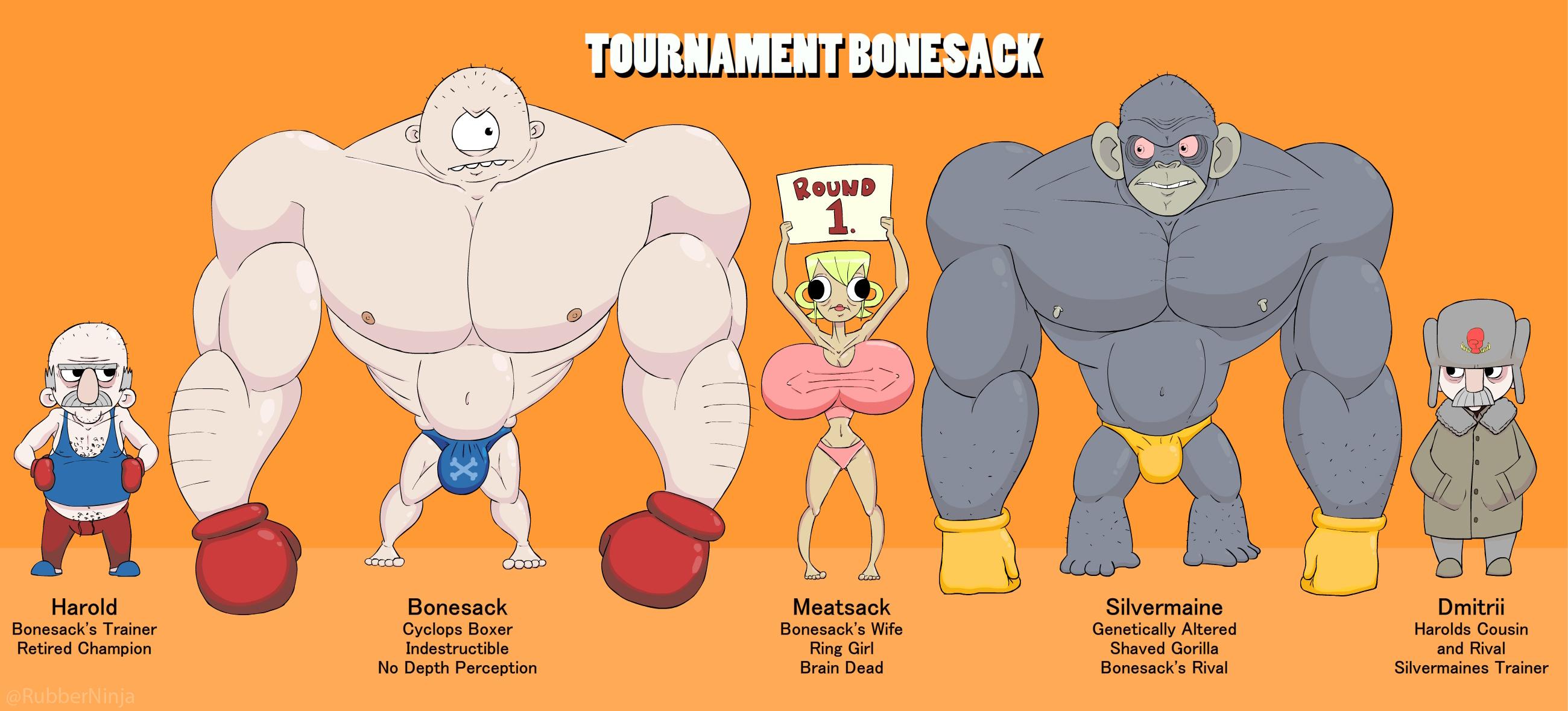 Tournament Bonesack
