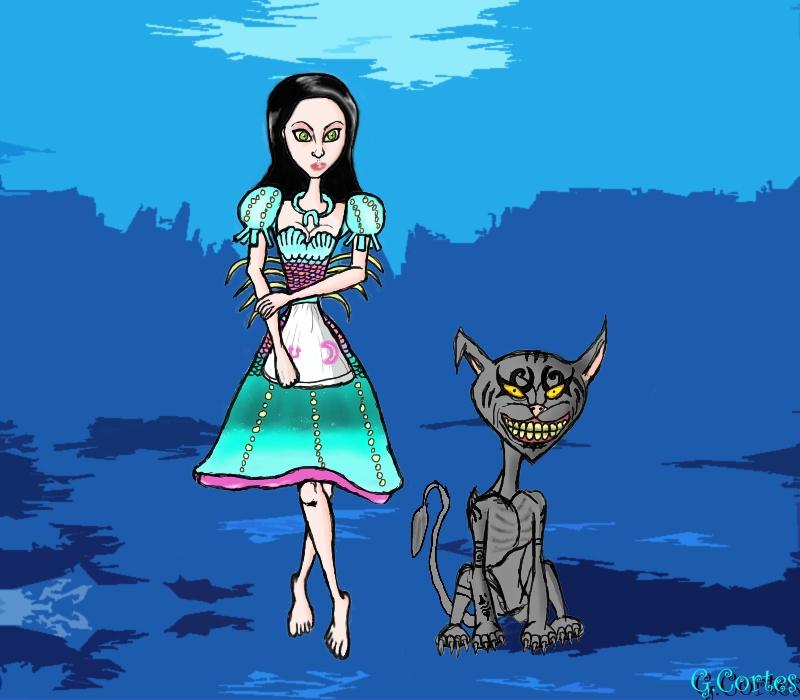 Alice, Siren Dress