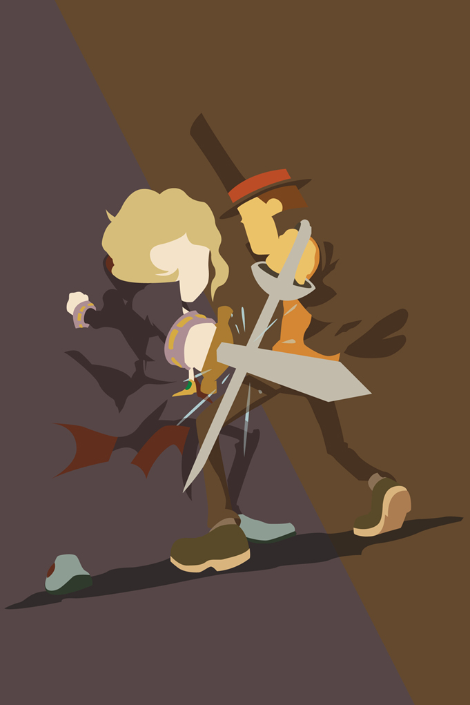 Professor Layton VS Anton