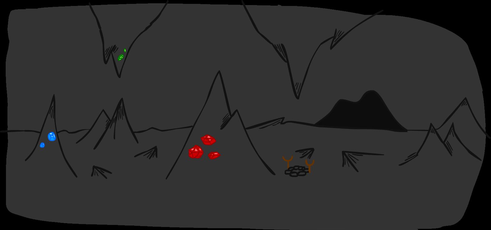 Dragon Cave Backdrop