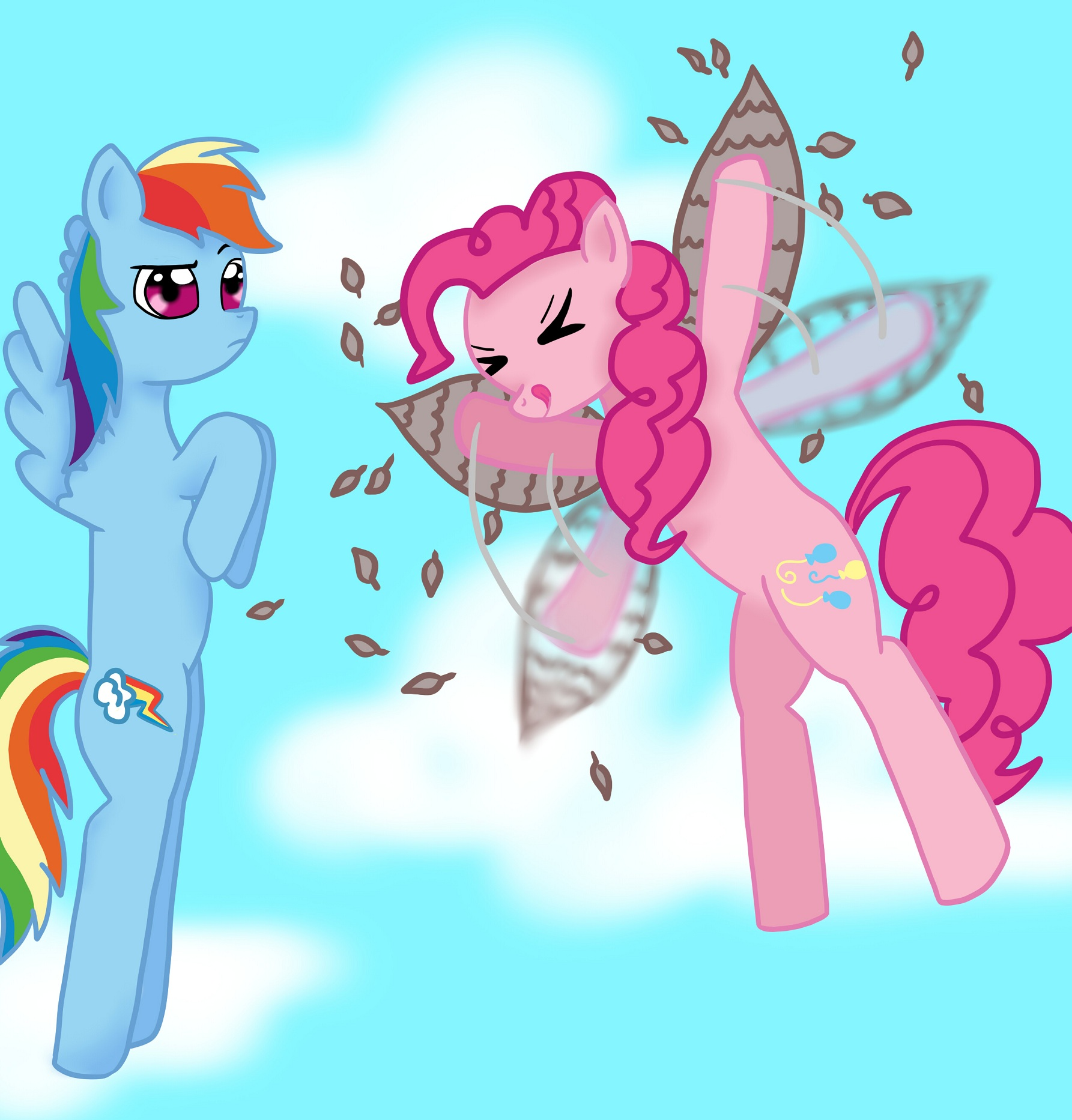 Pinkie's Flying Machine