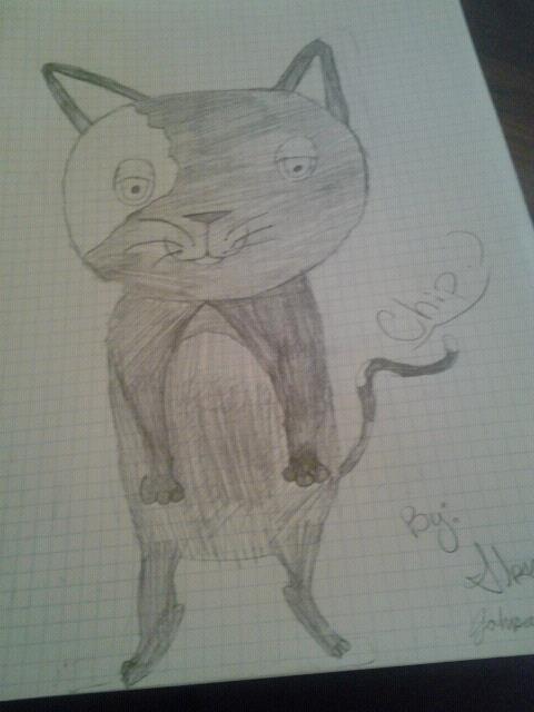 Chip the cartoon kitty