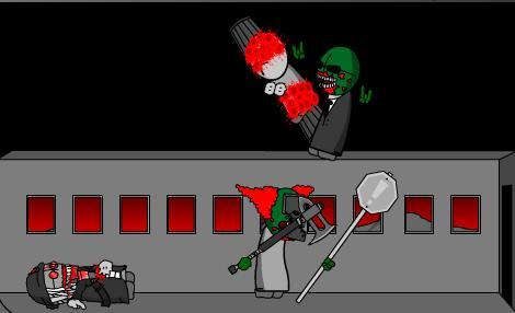 Madness Zombie Attack 3