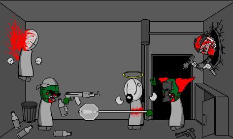Madness Zombie Attack 4
