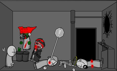 Madness Zombie Attack 5