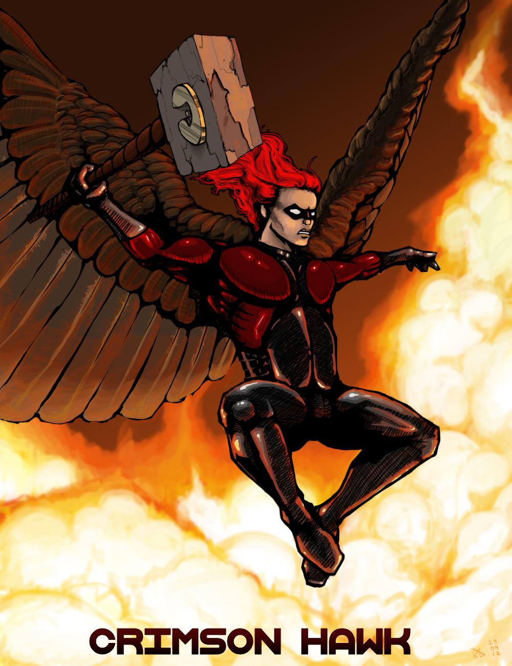 Crimson Hawk