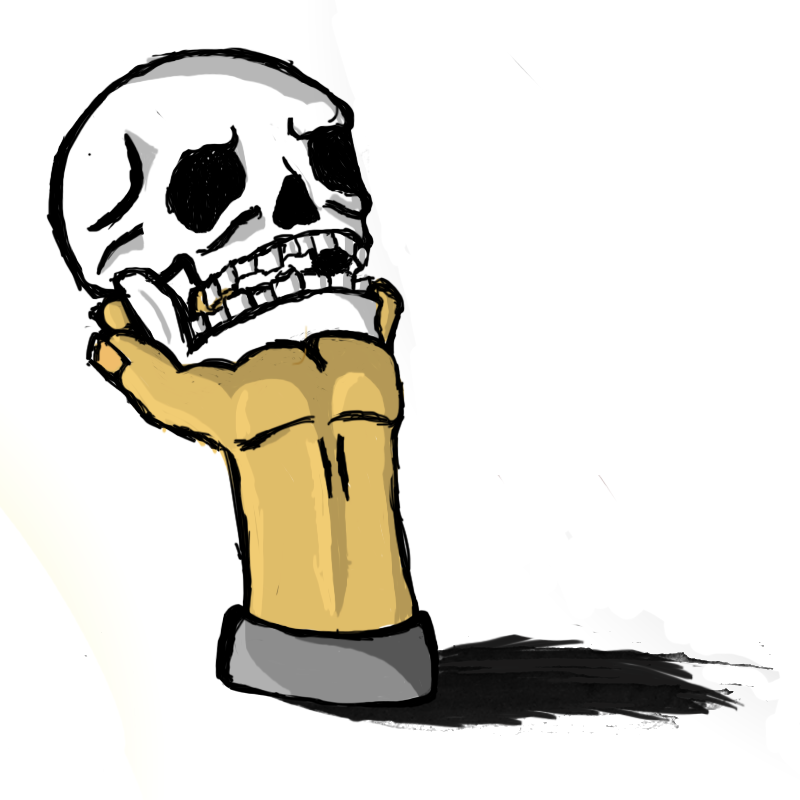 Hold the Skull
