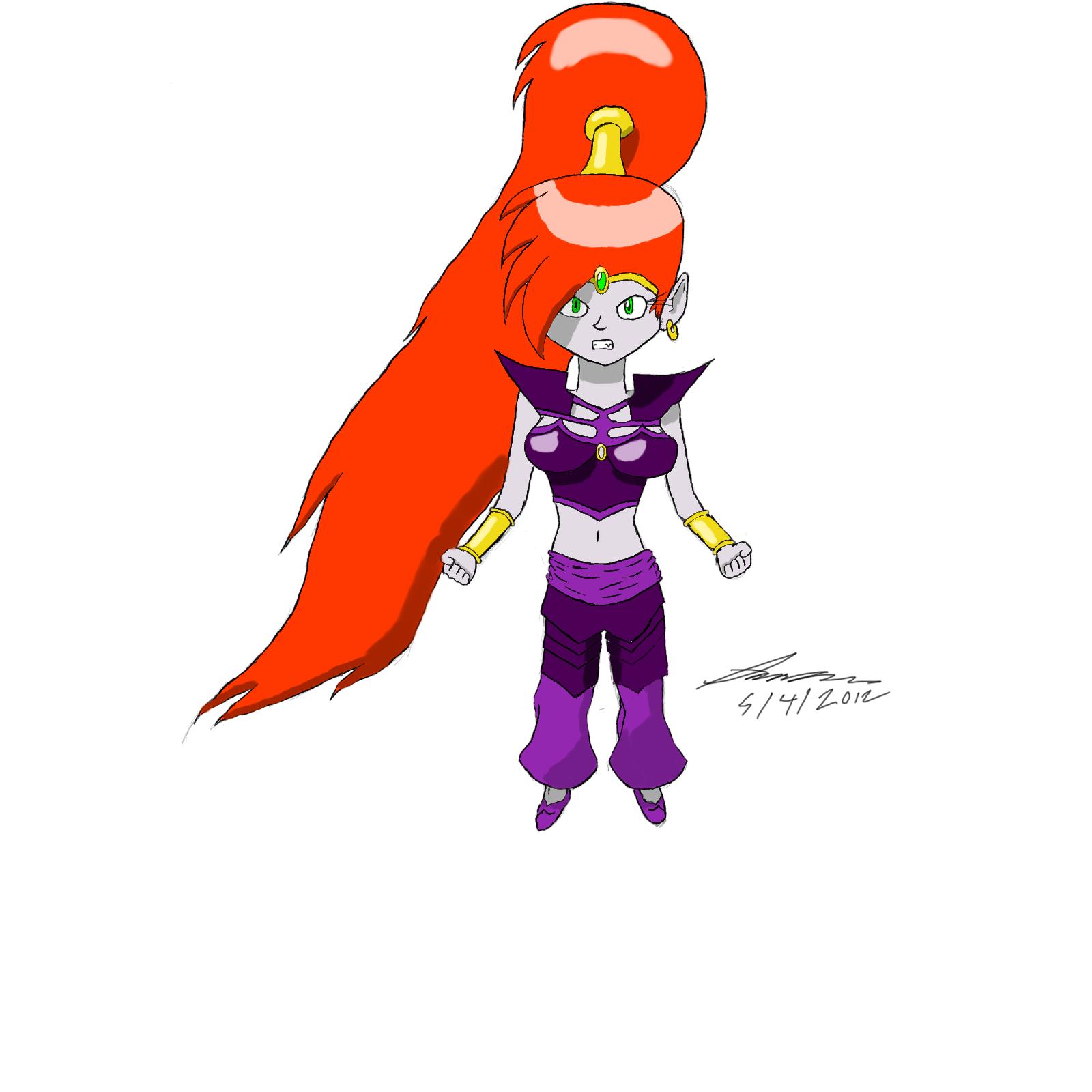 Shantae Bad Future