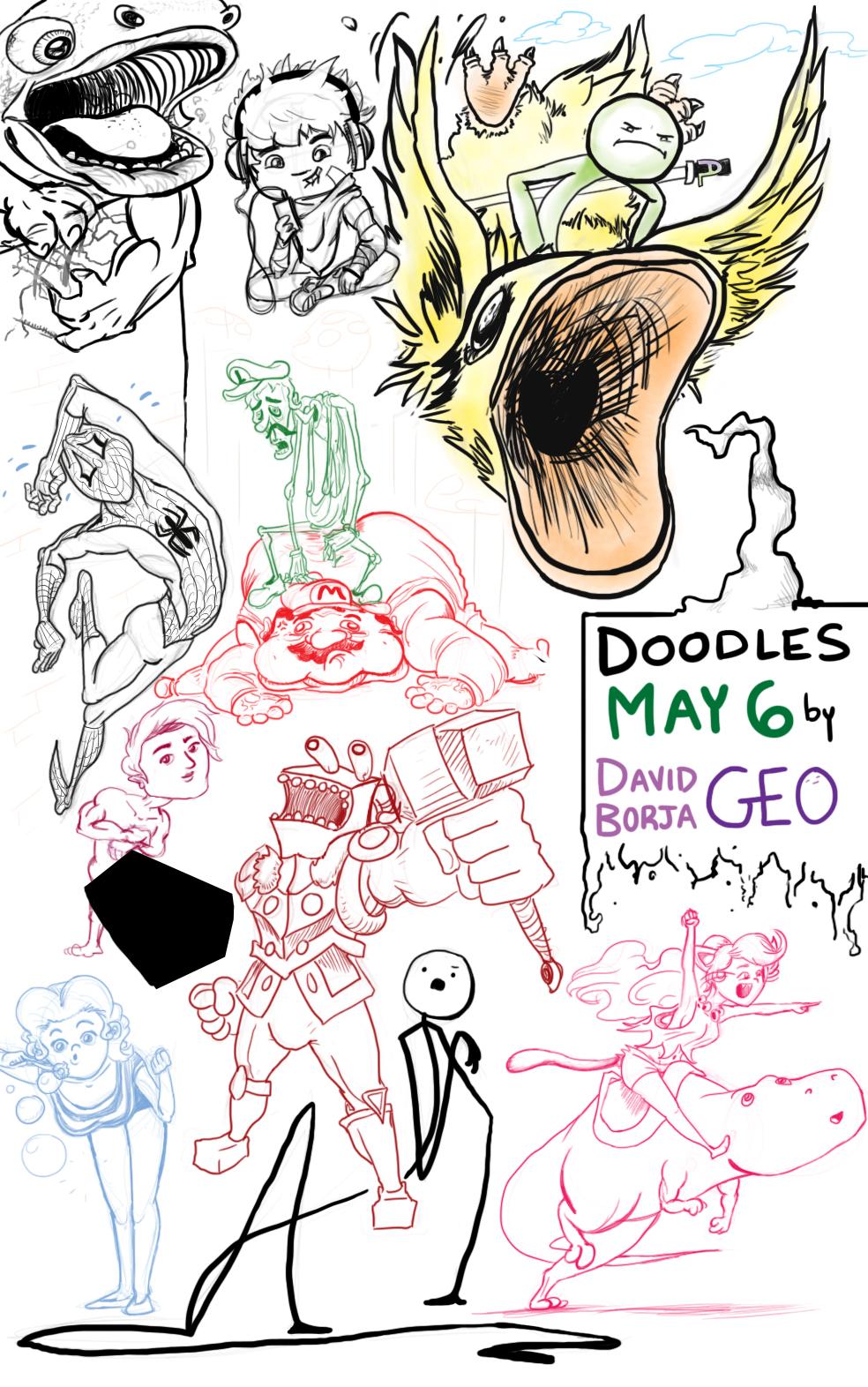 Geodoodles May 6