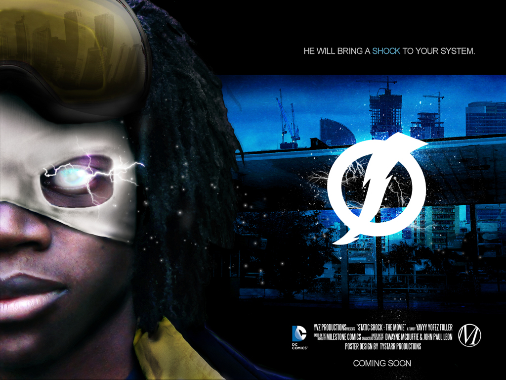 Static Shock Fan Film Poster