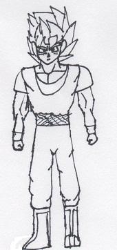 My DBZ Character