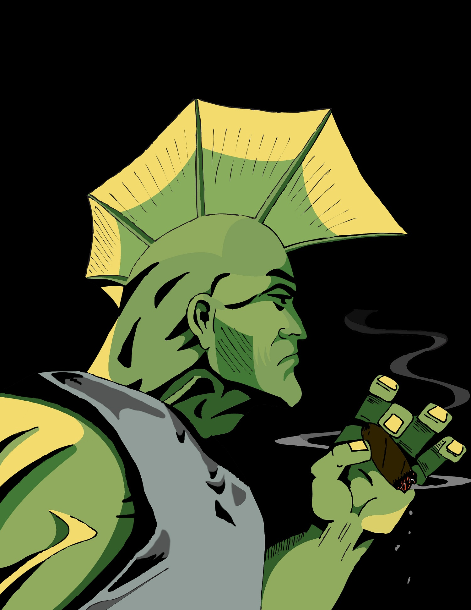 Savage Dragon: Smoke Break 2