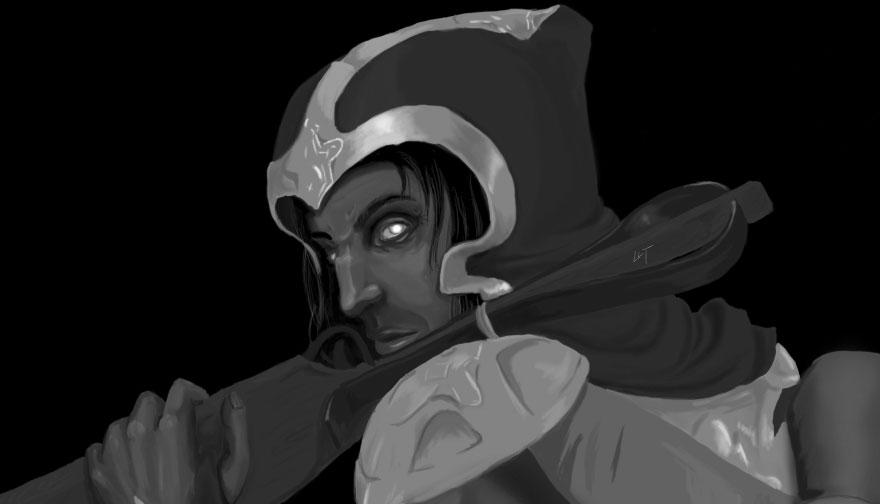 Diablo 3 fanart - Demon Hunter