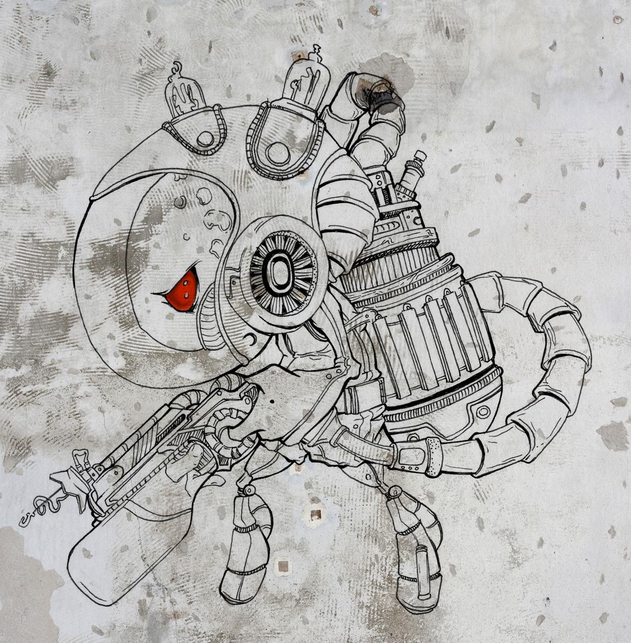 Alien Janitor