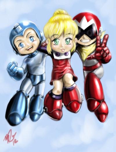 Rockman trio