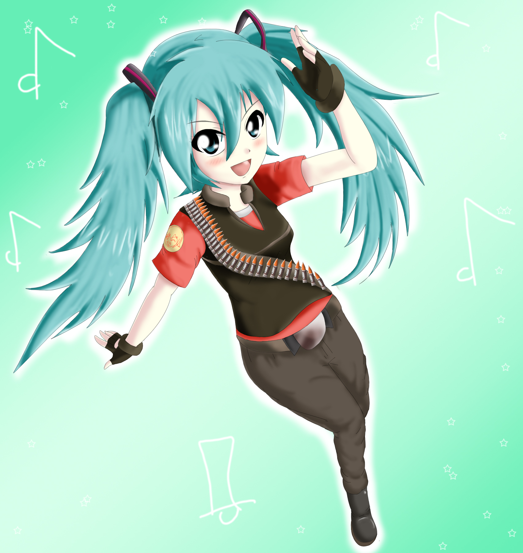 Heavy Weapons Miku