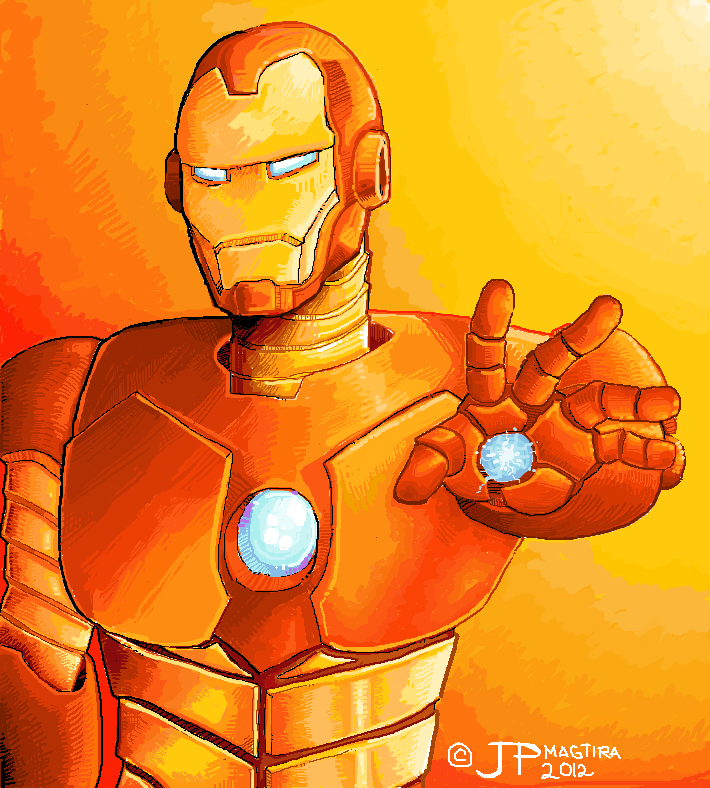 Ironman Ms Paint