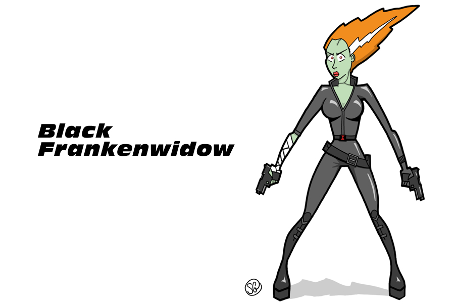 Black Frankenwidow