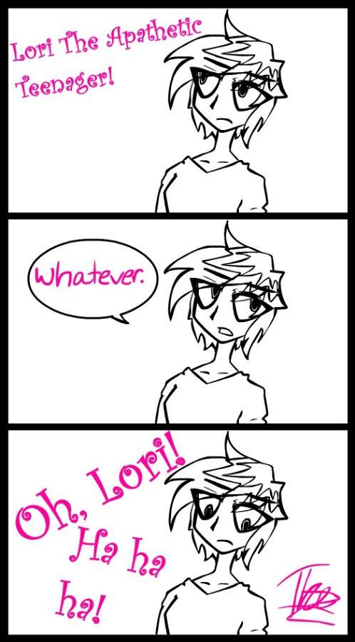 Lori The Apathetic Teenager