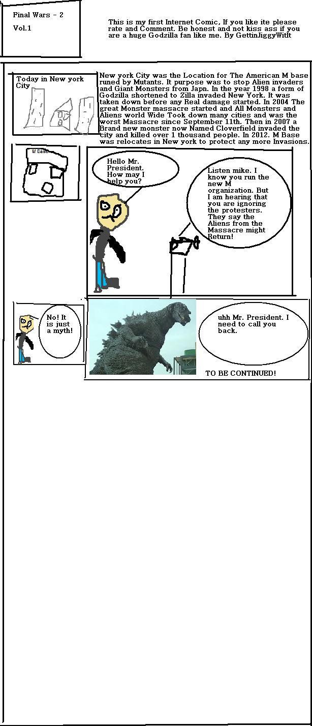 Godzilla Final Wars 2 - Vol.1