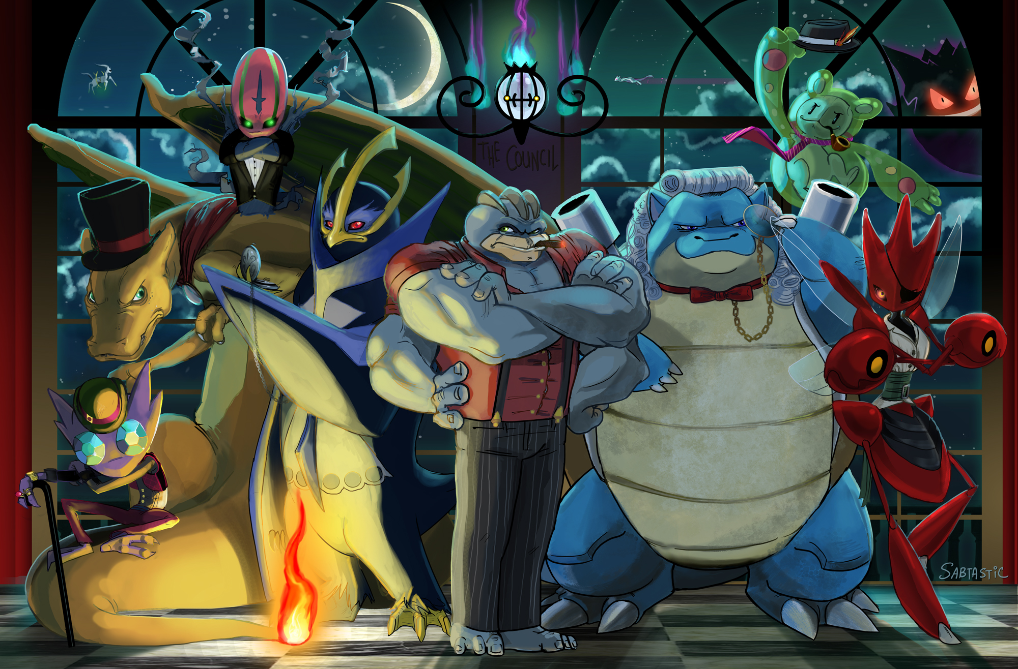 Pokemon Council Commission