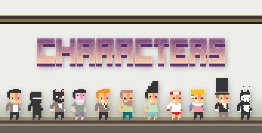 Character Select!