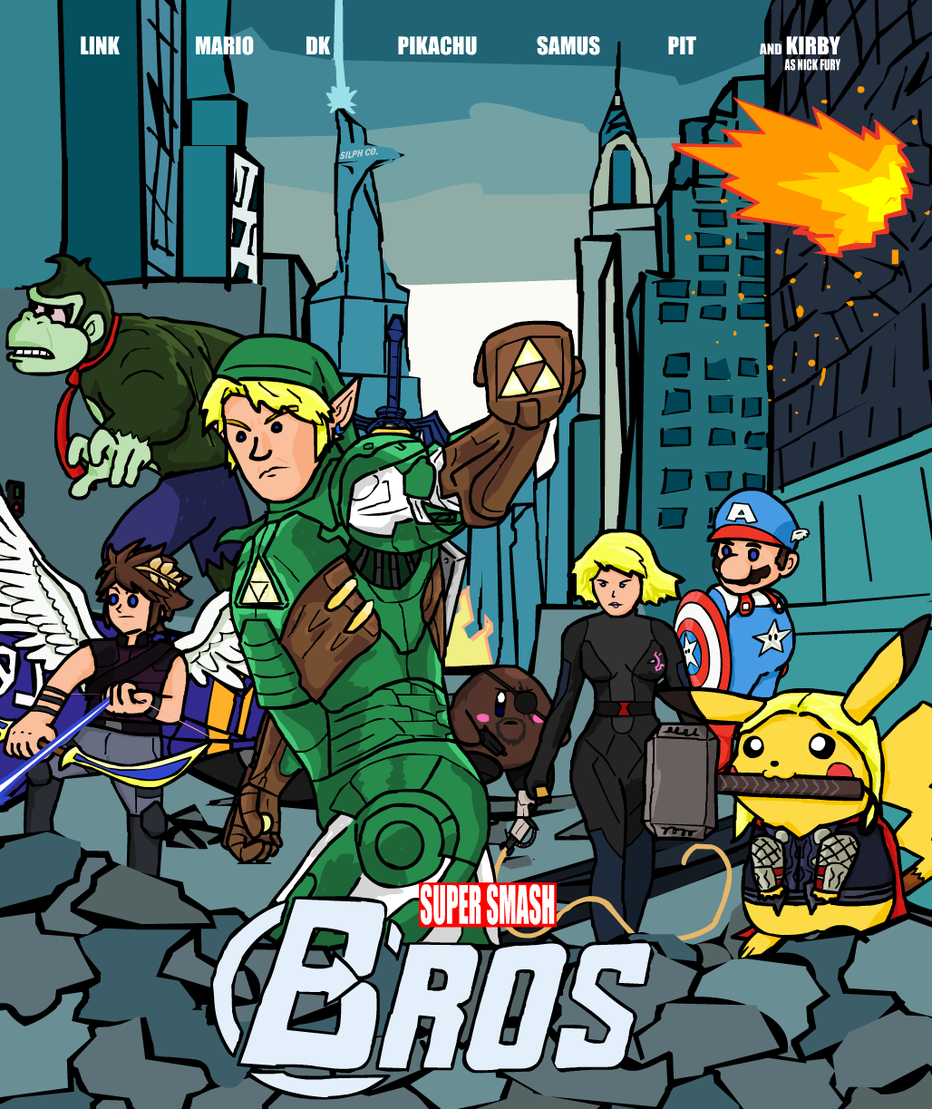 Super Smash Brovengers