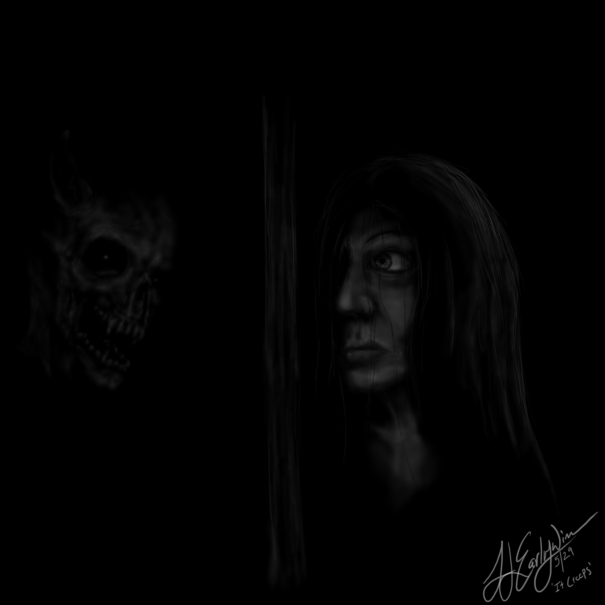 In the Dark - 'It Creeps'