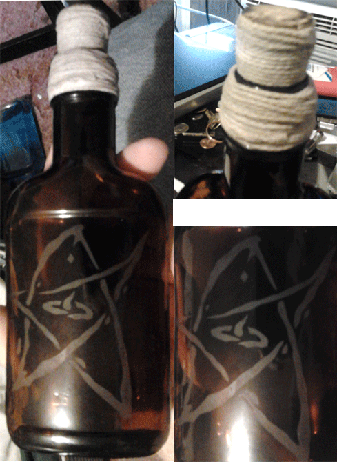 Elder Sign Bottle
